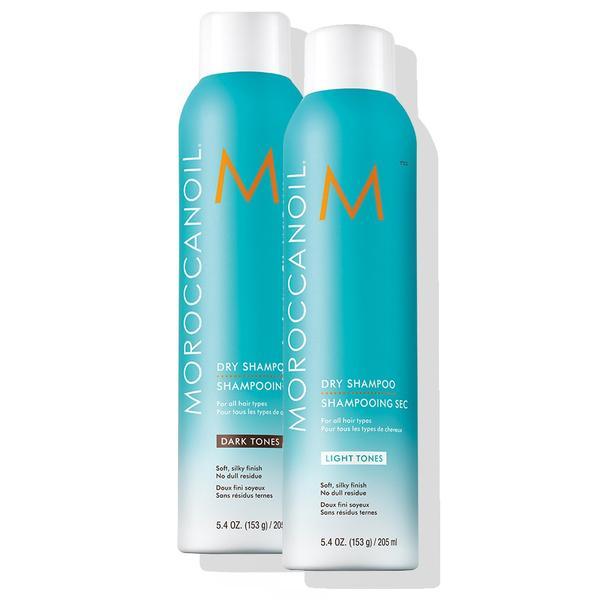 Moroccanoil Dry Shampoo Light and Dark tones