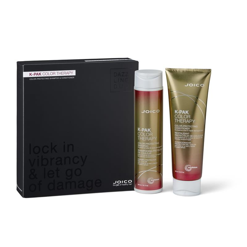 Joico K-Pak Color Therapy Dazzling Duo Shampoo + Conditioner