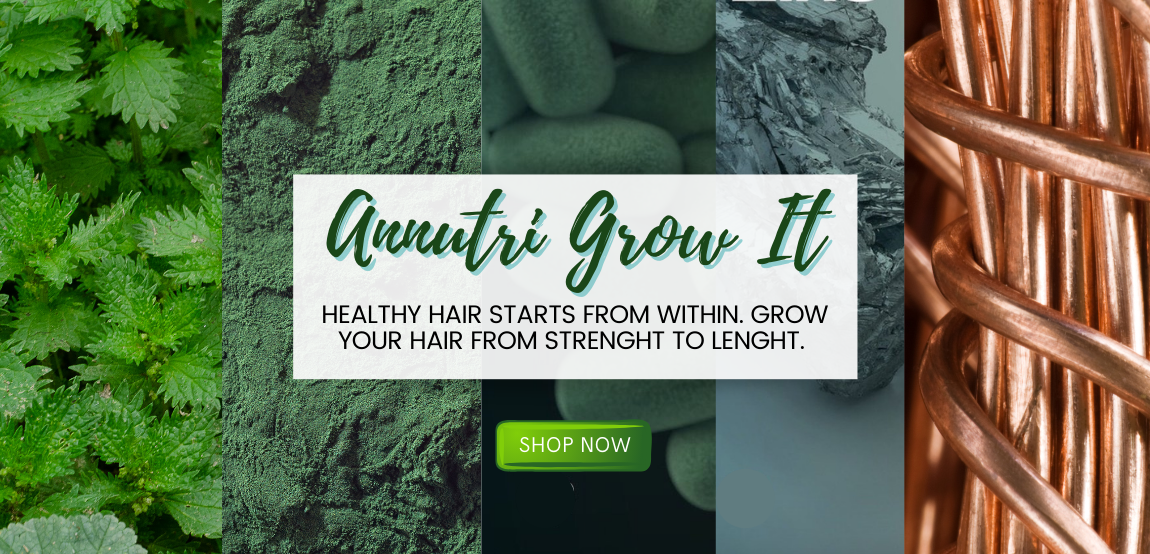 Annutri Grow It Cover showing ingredients included