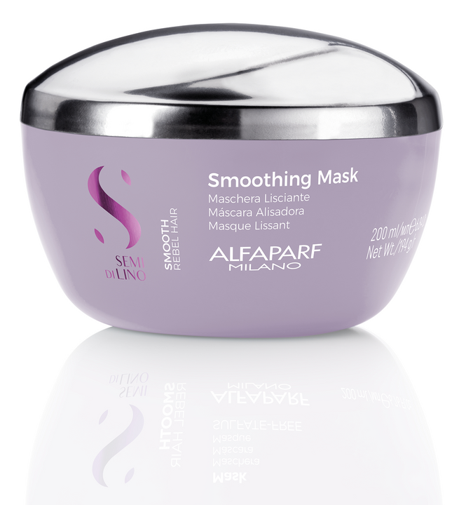 Semi Di Lino Smooth Mask for thick frizz prone hair