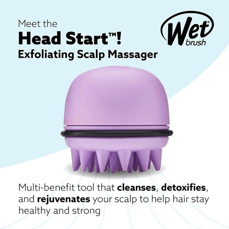 Wet Brush Scalp Brush Lavender HairBrush.ie